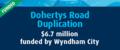 Dohertys Road Works Reaches Milestone